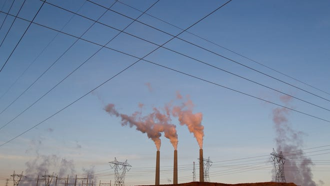 The Environmental Protection Agency wants power plants like the Navajo Generating Station in Page to replace coal with natural gas.