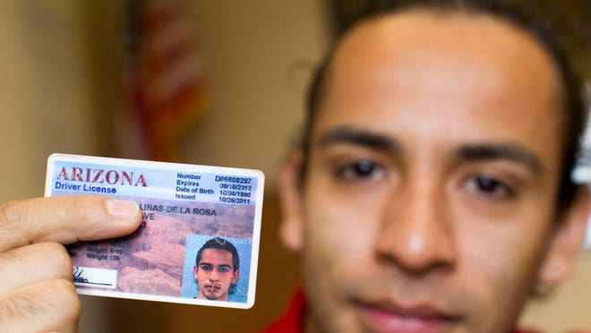 Alan Salinas received a driver's license when he was detained in 2009. But that license expired in 2012, and he hasn't been able to renew it.