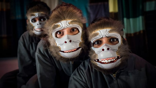 Hand-carved masks are key to a performance by a New Zealand theater group coming to the College of St. Benedict.