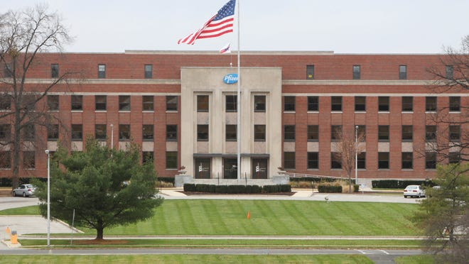 Pfizer pharmaceutical company in Pearl River.