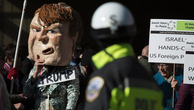 A demonstration in Washington on March 21, 2016.