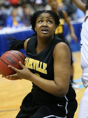 Starkville center Kelsey Jones averaged a double-double as as a sophomore and led the Lady Yellowjackets back to the Mississippi Coliseum for the first time since 1992.