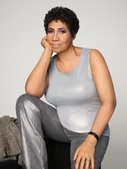 Aretha Franklin, photographed in Detroit in April 2014,