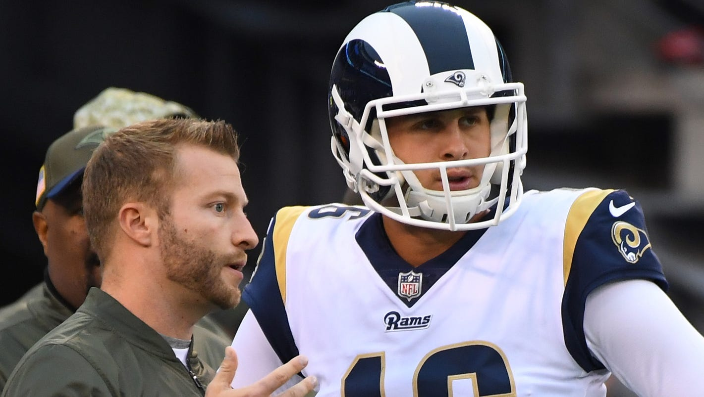 Heres how Los Angeles Rams rebuilt Jared Goff almost overnight