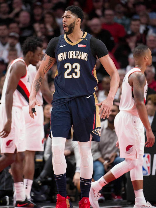 ee39dc5eeed4 NBA  Playoffs-New Orleans Pelicans at Portland Trail Blazers