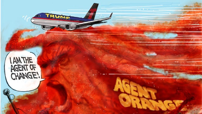Cartoon for Oct. 24, 2016.