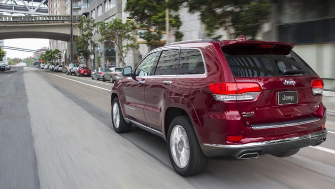 Fiat Chrysler will pay a $9.5 million SEC penalty as part of larger settlement over allegations that it sold vehicles that violated U.S. clean-air rules. The case involves diesel-powered Jeep Grand Cherokee SUVs, shown, and Ram 1500 pickups from model years 2014-16 that regulators say were sold with emission software that violated U.S. clean-air rules.