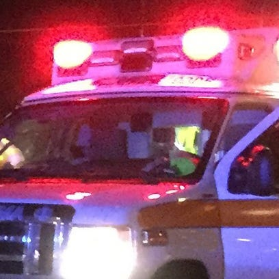 An ambulance is shown in this file photo.