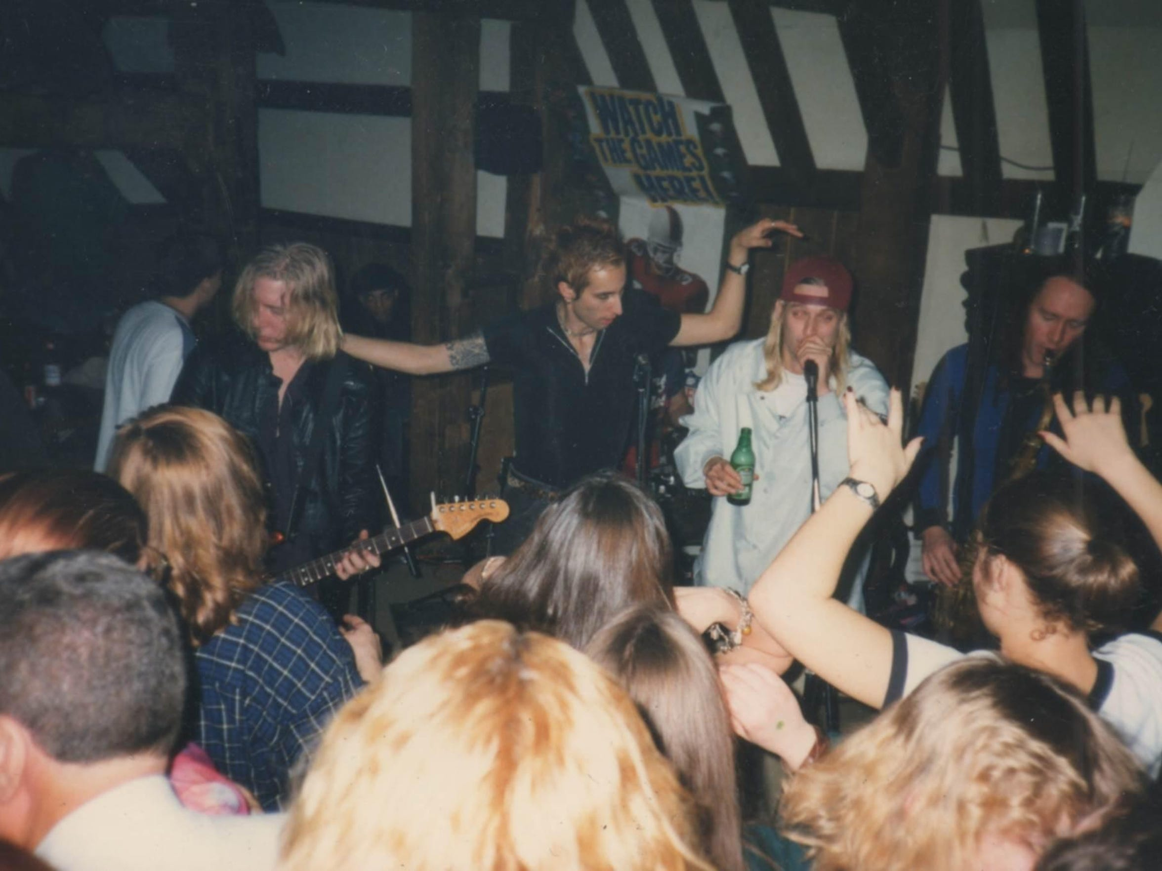 Jam sessions in the mid-'90s at the Bear's Den in Berkley
