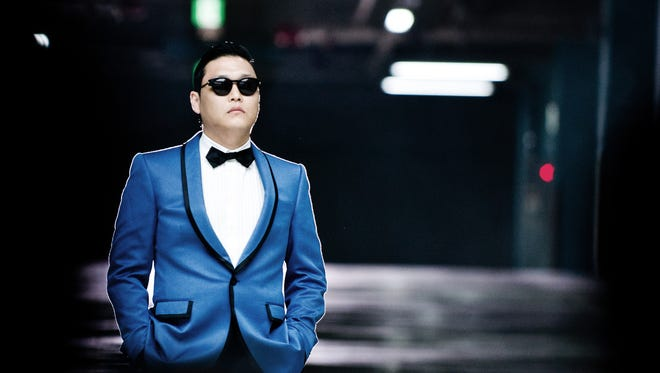 S. Korean singer Psy