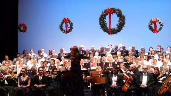 "The Binghamton Downtown Singers return to the Forum Saturday to perform Handel's ""Messiah"" with the Binghamton Philharmonic."