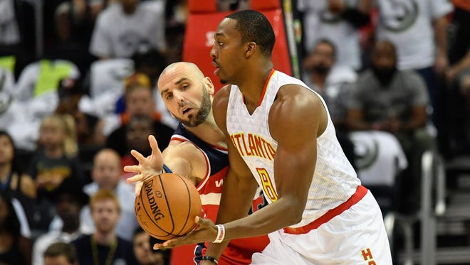 Dwight Howard had 11 points and 19 rebounds in his Hawks debut.