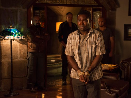 "David Oyelowo is in over his head in ""Gringo."""