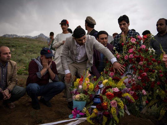 AFGHANISTAN-UNREST-ATTACK-FUNERAL