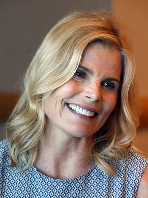 Mariel Hemingway, who attended a conference on mental health at the Diplomat Resort & Spa, July 21, 2016, in Florida. Hemingway discussed her family and their struggles she observed as she grew up in the famous family. (Charles Trainor Jr./Miami Herald/TNS)