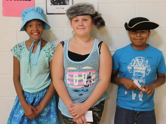 Marshall Upper Elementary fifth-grade students researched