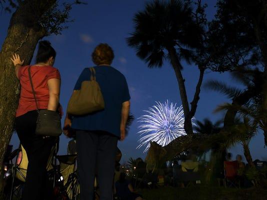 Melbourne July 4 Fireworks