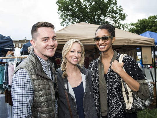 The OTR 5K and Summer Celebration are this weekend. Mike Estep of Hyde Park, Luana Johnson of Norwood and Marcia Mitchell from The Berkshires, MA, from a previous year's event.