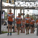 Motor City to Windy City: Runners tackle more than a marathon a day for 10 days