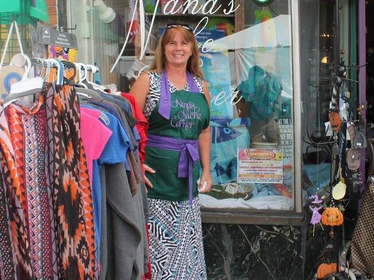 1 Wendi Skolnik, owner of Nana's Niche & Corner