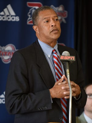 Detroit Mercy athletic director Robert Vowels