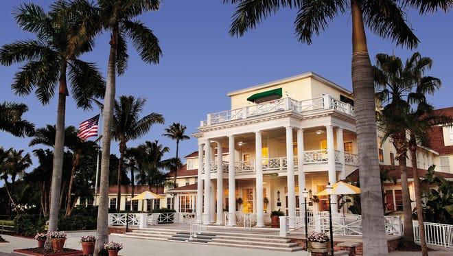 Readers of Conde Nast Traveler magazine like Gasparilla Inn & Club on the island of Boca Grande.