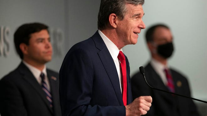 Gov. Roy Cooper announced on Thursday that those who have gotten at least one COVID-19 vaccine dose and are 18 years of age or older will be automatically entered in the lottery for a chance to win $1 million.
