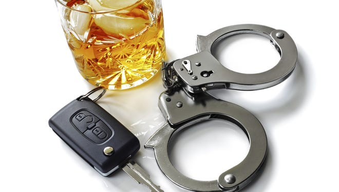 Drunk driving photo illustration