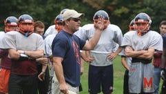 Horace Greeley football coach Tim Sullivan.