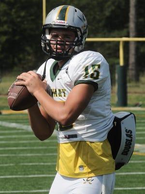 Former Calvary quarterback Daniel Fitzwater has passed away.