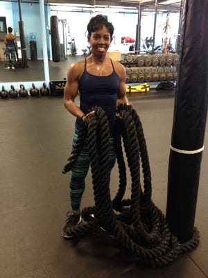 Jaena Mebane is a personal trainer and group fitness instructor from New Rochelle.