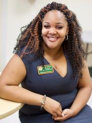 Ashley Samuel, a graduate student in public health