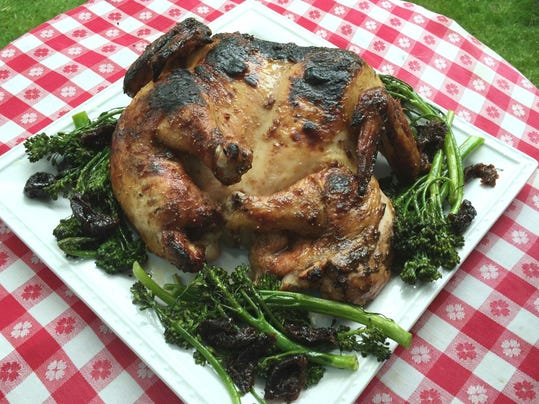 One good recipe: Spatchcocked Chicken with Fig Glaze