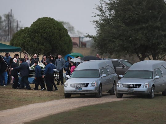 Funeral Held For Victim Of Church Shooting In Sutherland Springs