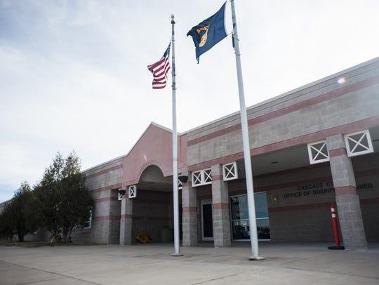 The Cascade County Detention Center.