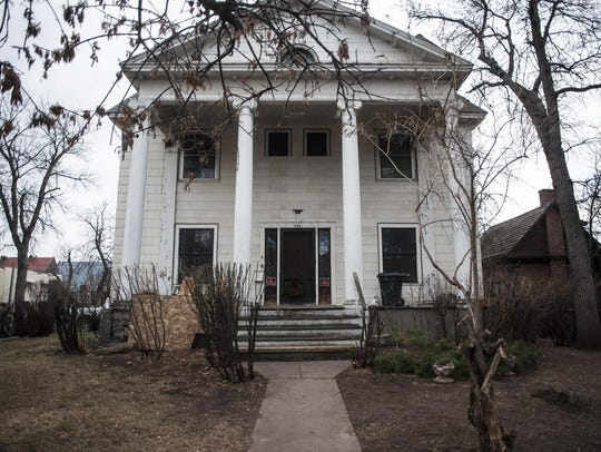 Kelly Parks recently bought the Jenks Mansion, built