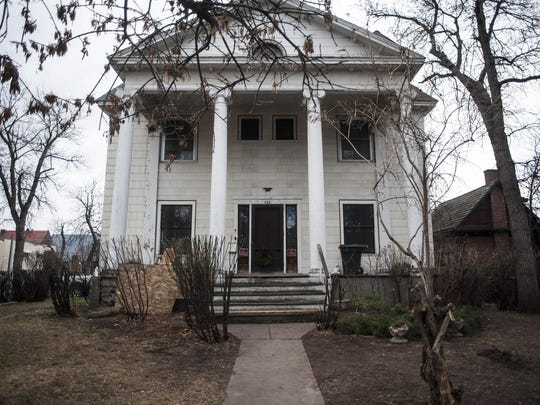 Kelly Parks recently bought the Jenks Mansion, built in 1908 and named for its original owner, Charles O. Jenks, vice president of the Great Northern Railroad, with plans to restore it. The building was left vacant for 34 years by the previous owner.