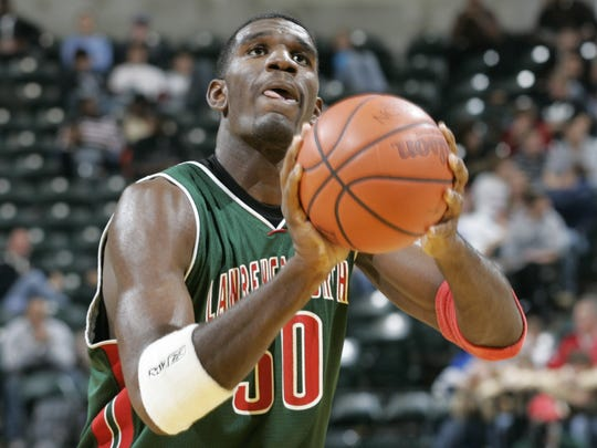 Lawrence North's Greg Oden