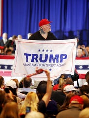 DonaldTrump supporters pack into the Savannah Center