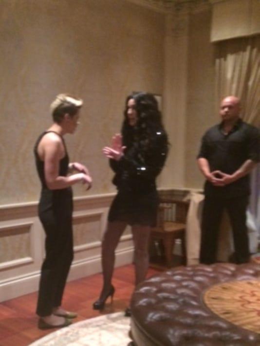 Artz and Cher .JPG