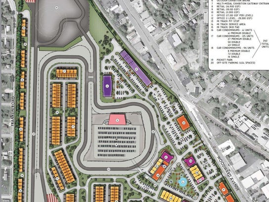 M1 Car Condo Project Gearing Up In Pontiac