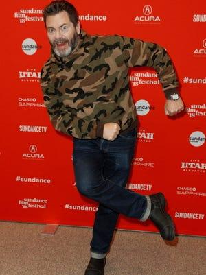 Nick Offerman.