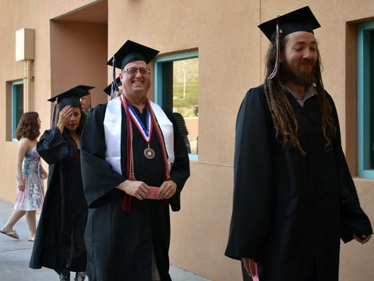John Frye graduates with his Bachelor's Degree in Accountancy