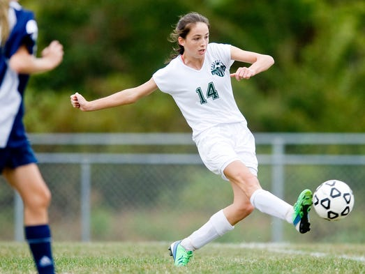 Hannah Logue, Fairfield, sr.: The striker supplied