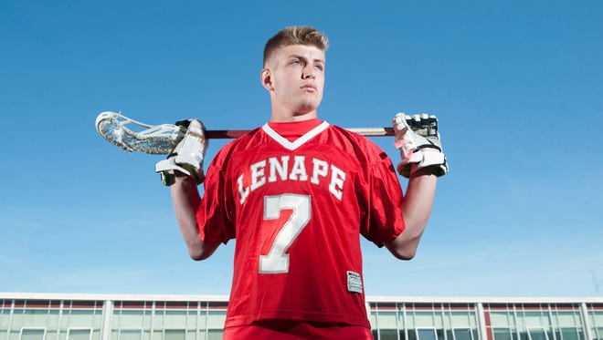 Lenape's Zach Cole is the Courier-Post's Boys' Lacrosse Player of the Year for 2018.