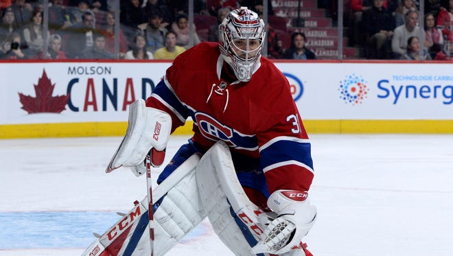 Montreal Canadiens goalie Carey Price is 13-1-1 with a 1.66 goals-against average and a .946 save percentage.
