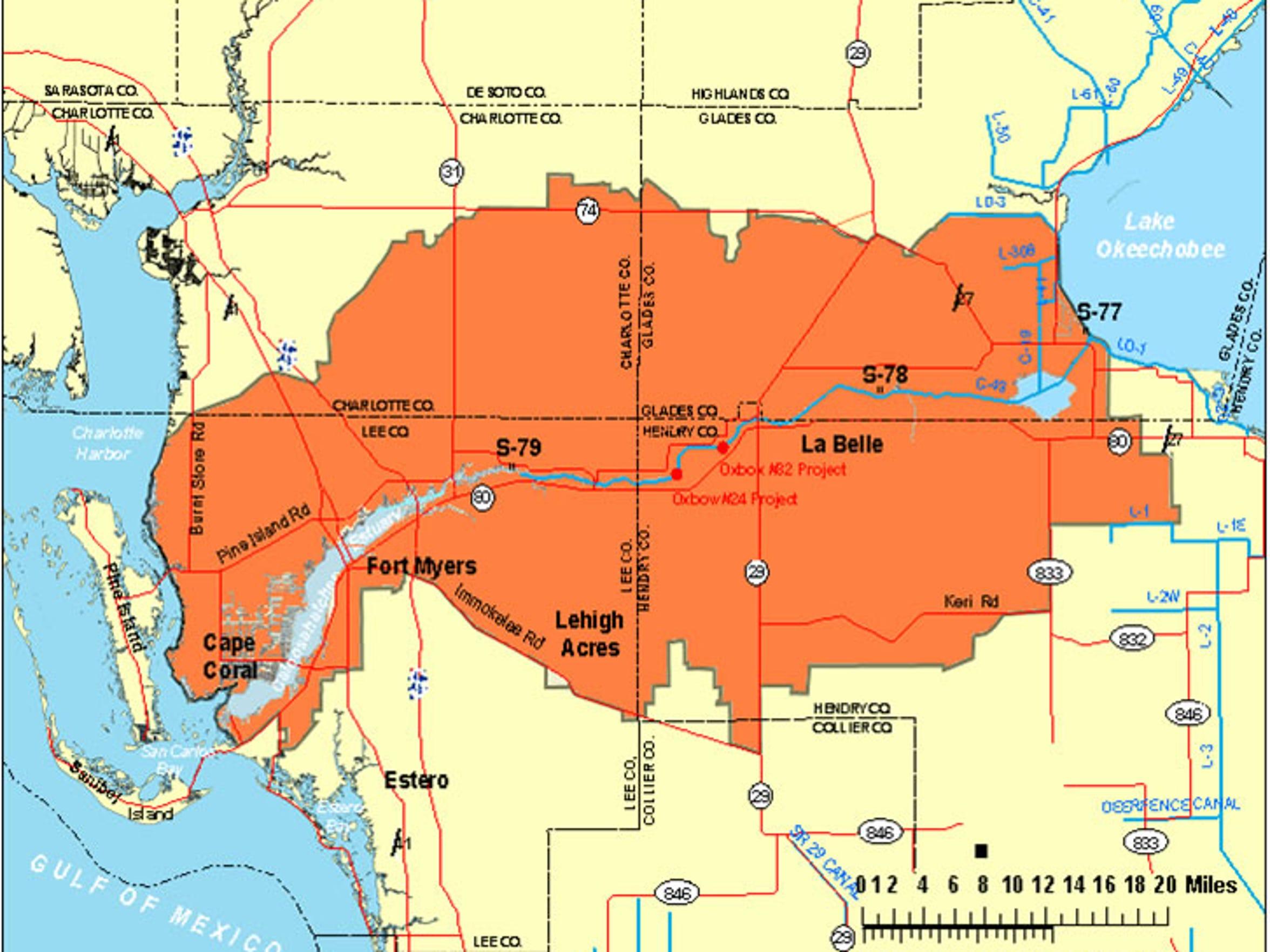 Caloosahatchee River (C43) West Basin Storage Reservoir Project