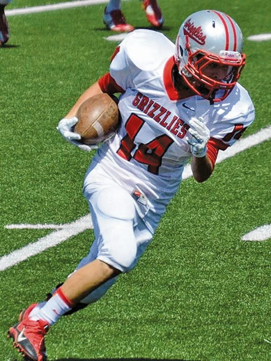 Carrizozo High School junior Christian Najar is the student athlete of the week.