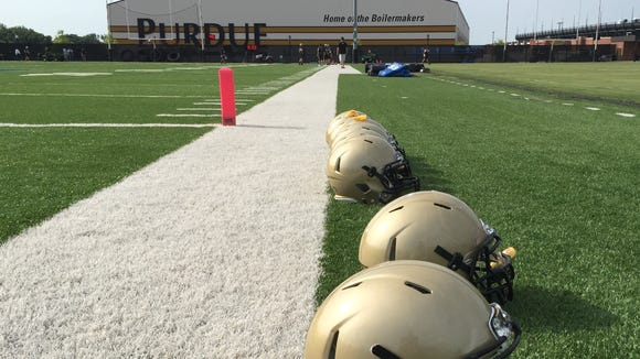 Recap from Monday morning's Purdue football practice