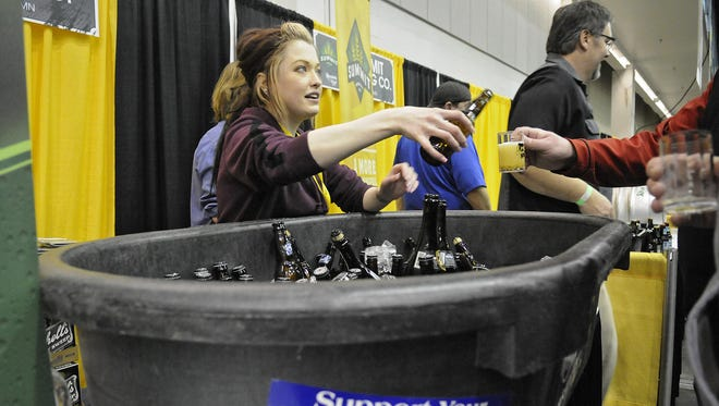 The America On Tap beer tour on Saturday is set to feature 50 breweries.